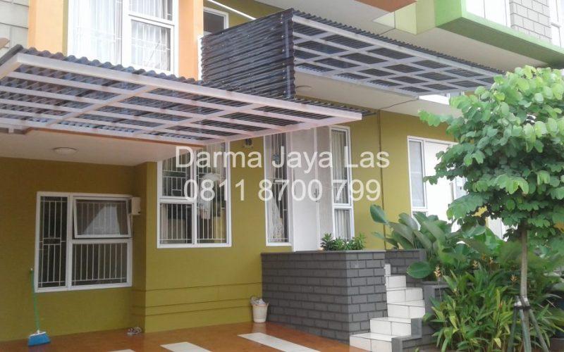 Jasa Pasang Kanopi di Tangerang Atap Solartuff