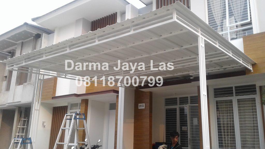 Contoh Kanopi Besi Hollow Cremona Jasa Pasang Kanopi di Tangerang